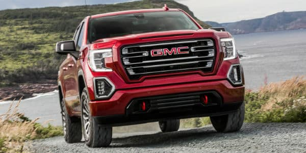 Front view of 2020 GMC Sierra 1500 AT4