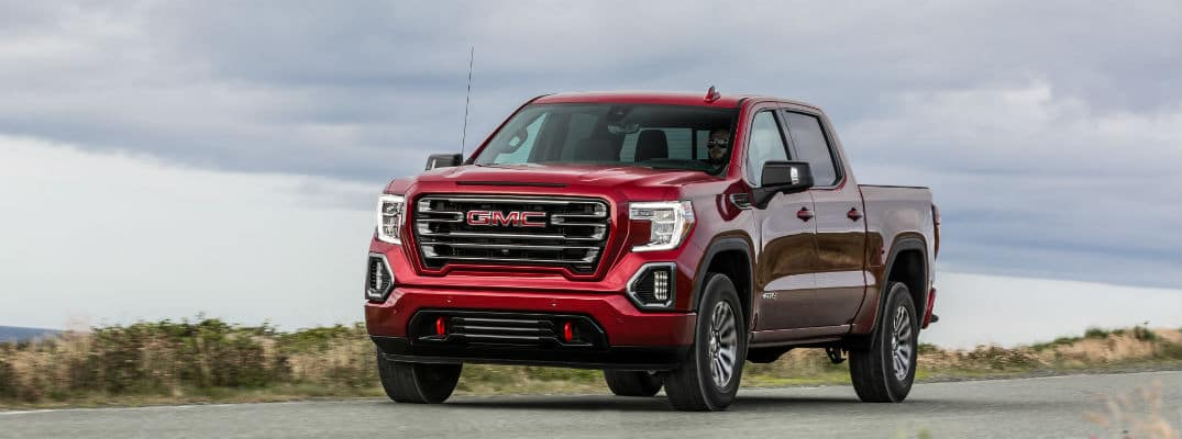 Red 2020 GMC Sierra 1500 AT4