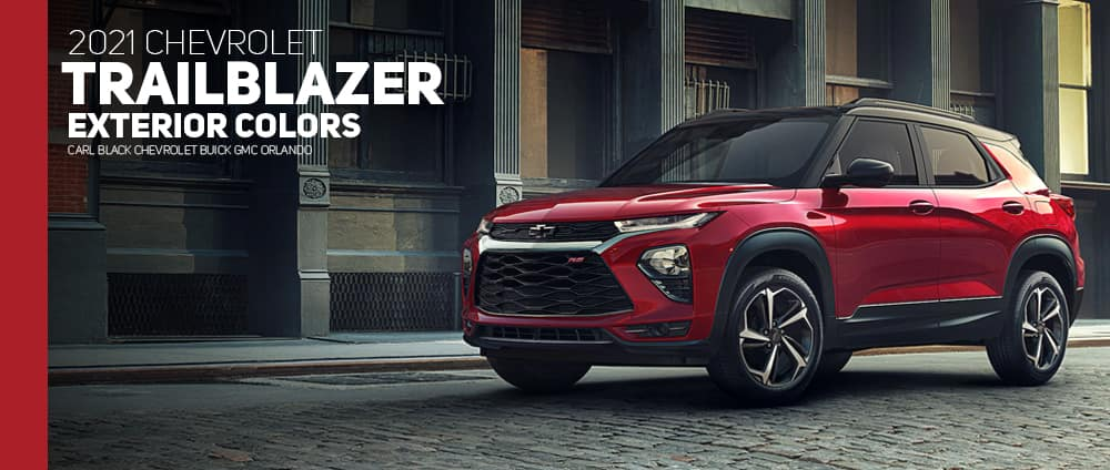 2021 Chevrolet Trailblazer Colors