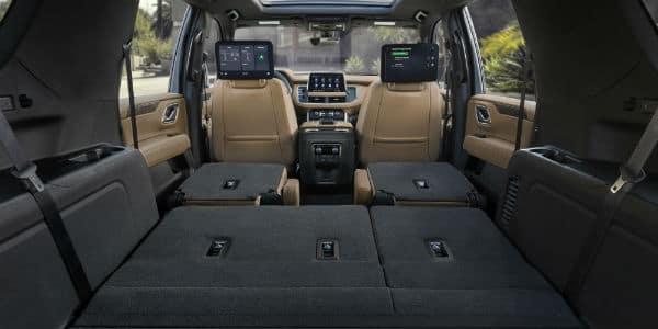 Interior view of 2021 Chevrolet Suburban