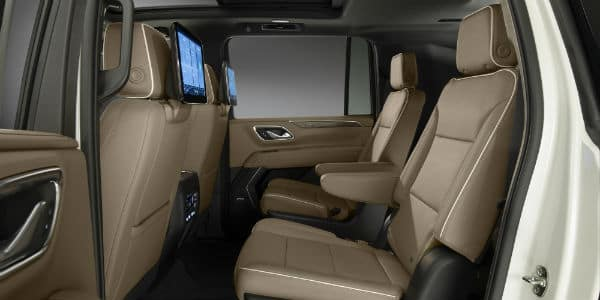 Interior view of 2021 Chevrolet Suburban