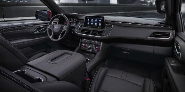 Interior view of 2021 Chevrolet Tahoe