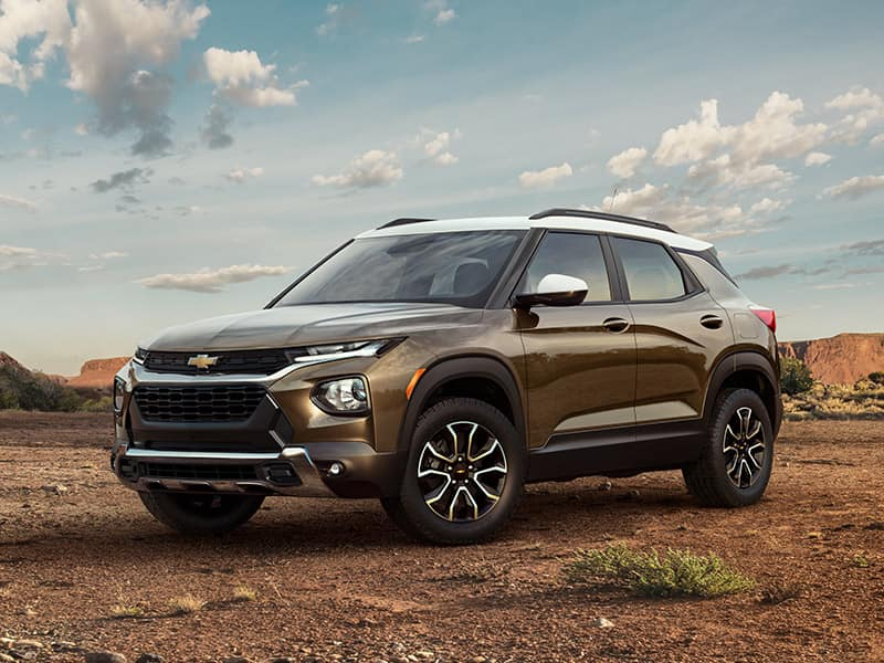 2021 Chevrolet Trailblazer Font Quarter View