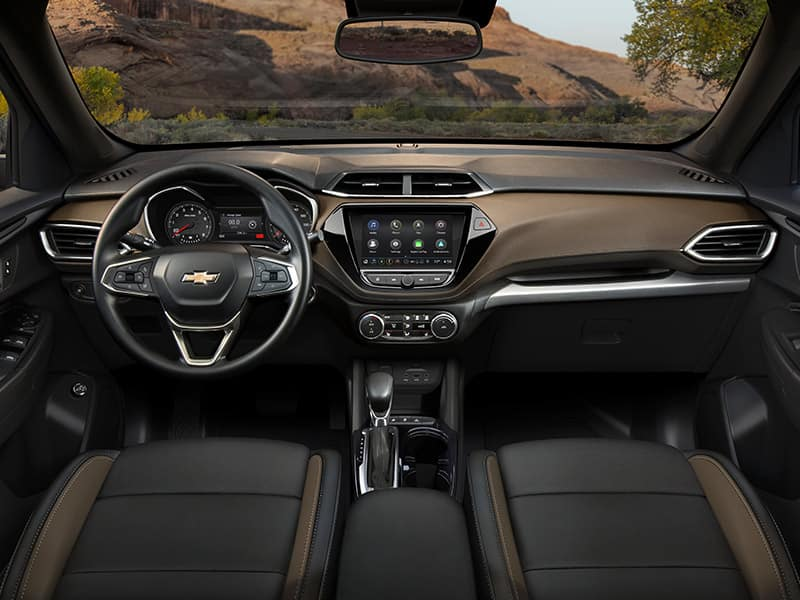 2021 Chevrolet Trailblazer Interior