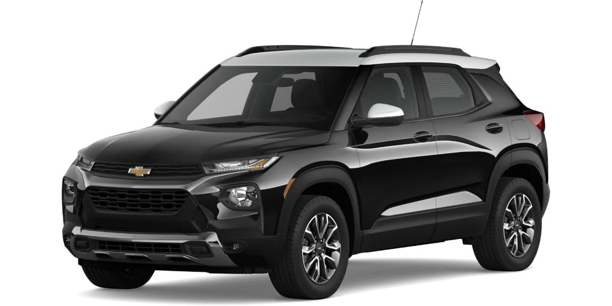 2021 Chevrolet Trailblazer Mosaic Black Metallic Summit White Roof Color