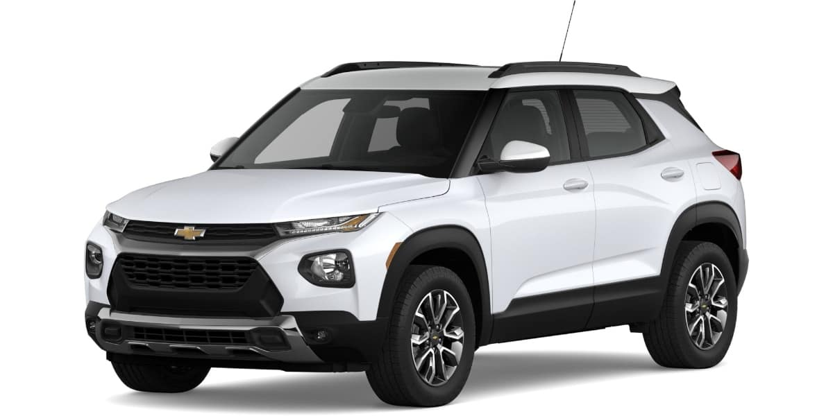 2021 Chevrolet Trailblazer Summit White Roof Color