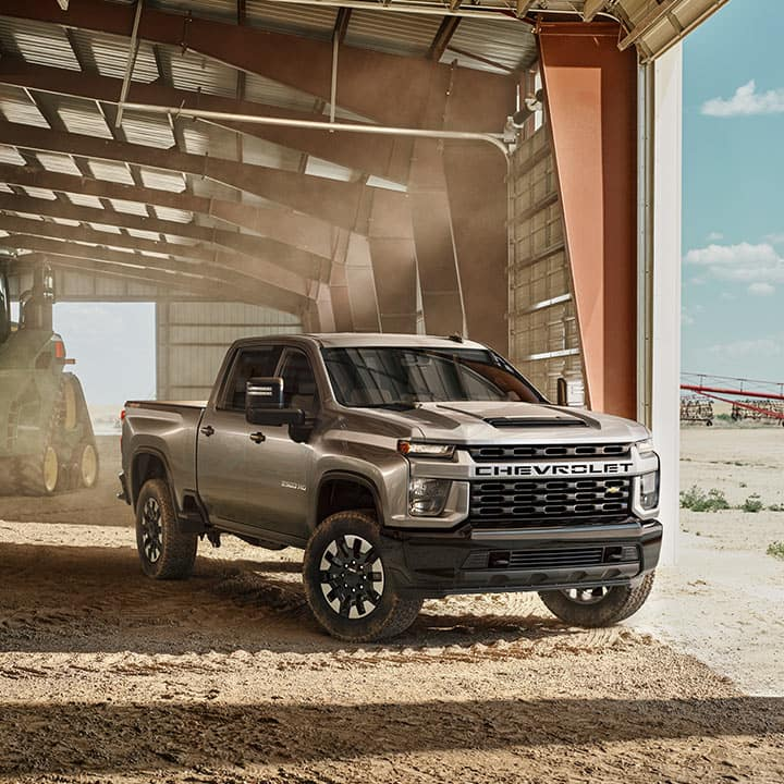 Chevy and GMC Heavy Duty Pickup Trucks