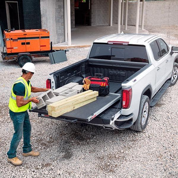 Chevrolet Commercial Trucks on Job Site