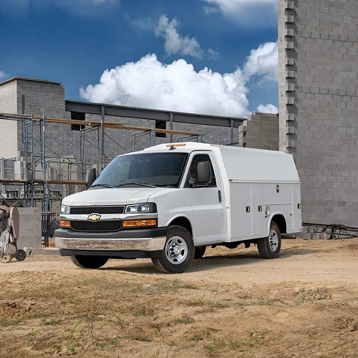 Chevy and GMC Commercial Vans