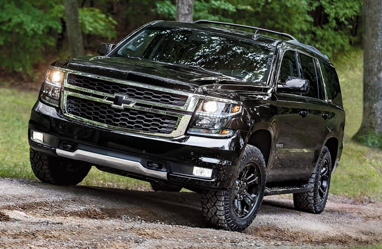Offroading 2020 Chevy Tahoe