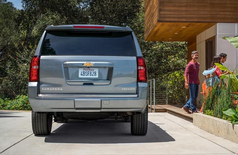 Rear end of a 2020 Chevy Suburban