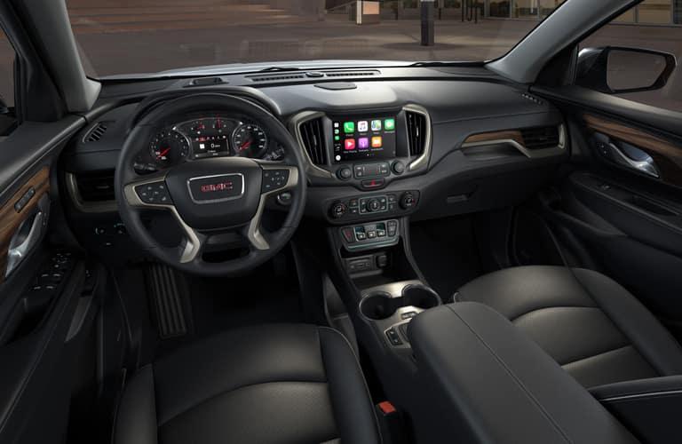 Cockpit of GMC Terrain