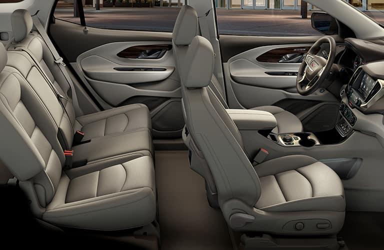 Seats inside GMC Terrain