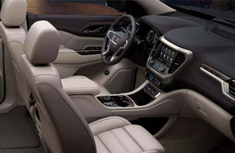 GMC Acadia interior cockpit