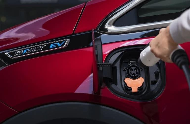 2021 Chevrolet Bolt EV charging port