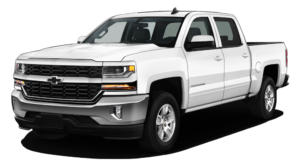 White 2018 Chevy Silverado 1500