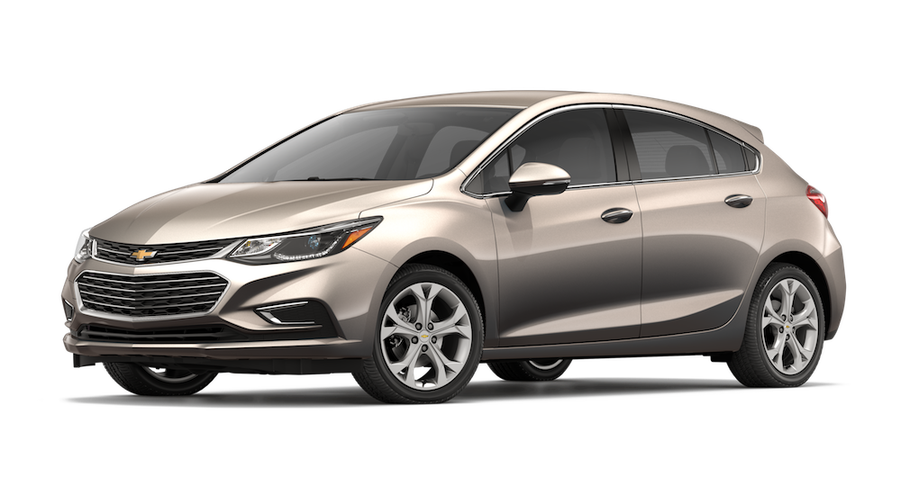 New Beige 2018 Chevrolet Cruze
