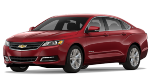 Red 2018 Chevy Impala