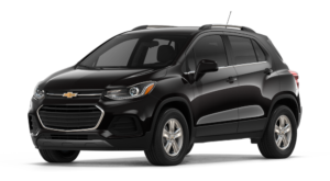 Black 2018 Chevy Trax Model Image