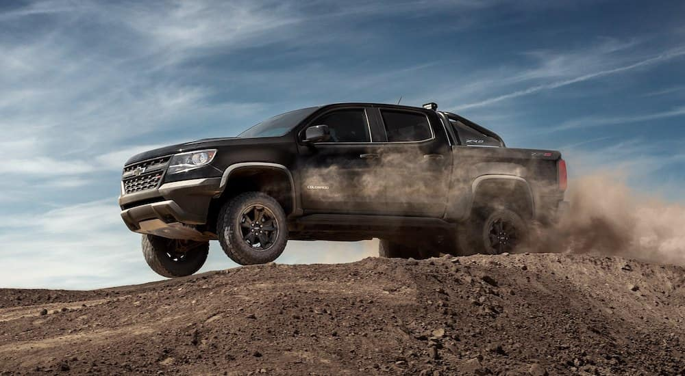 2019 Chevy Colorado off roading