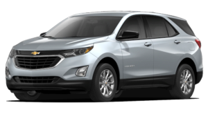 Silver 2019 Chevy Equinox Model Image
