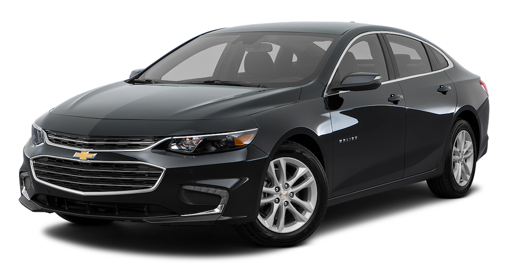 Black 2019 Chevy Malibu