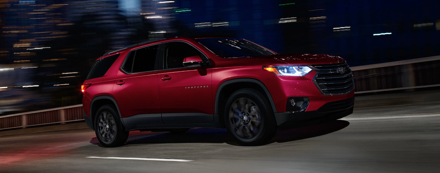 2019 Chevy Traverse Performance