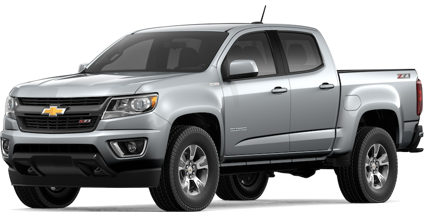 Silver 2019 Chevrolet Colorado