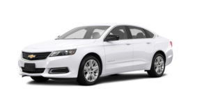 A white 2019 Chevy Impala from Carl Black Nashville