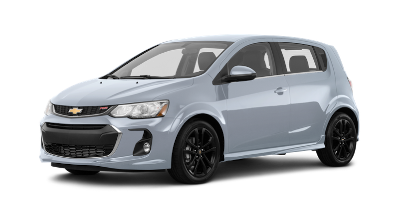 A grey 2019 Chevy Sonic from Carl Black Nashville