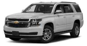 A white 2019 Chevy Tahoe from Carl Black Nashville