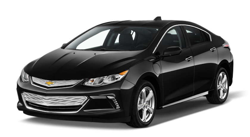 A black 2019 Chevy Volt from Carl Black Nashville