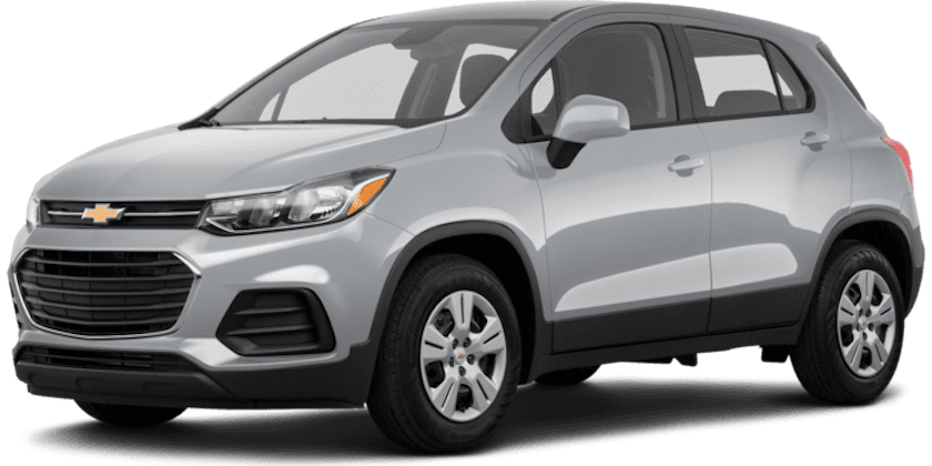 A silver 2019 Chevy Trax from Carl Black Nashville