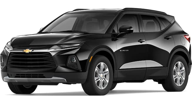2019 Blazer Black Color