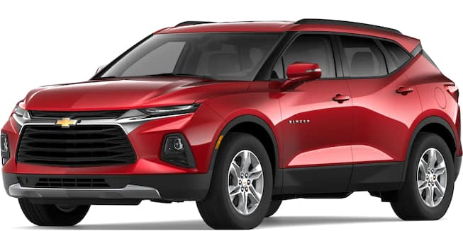 2019 Blazer Cajun Red Tincoat Color
