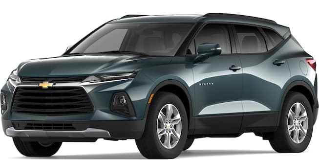 2019 Blazer Graphite Metallic Color