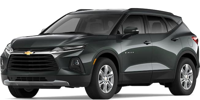 2019 Blazer Nightfall Gray Metallic Color