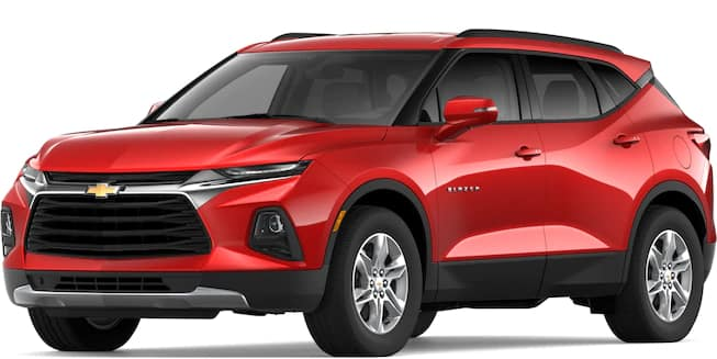 2019 Blazer Red Hot Color