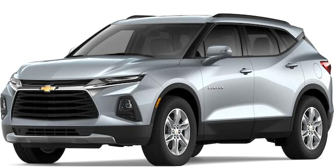 2019 Blazer Silver Ice Metallic Color