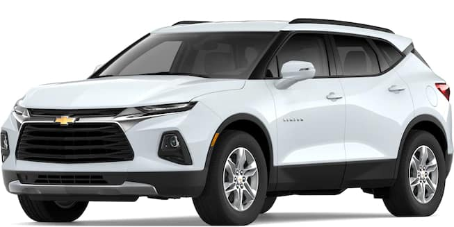 2019 Blazer Summit White Color