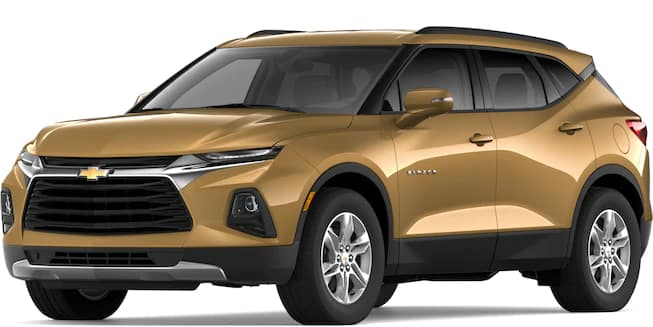2019 Blazer Sunlit Bronze Metallic Color