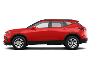 2019 chevrolet blazer red