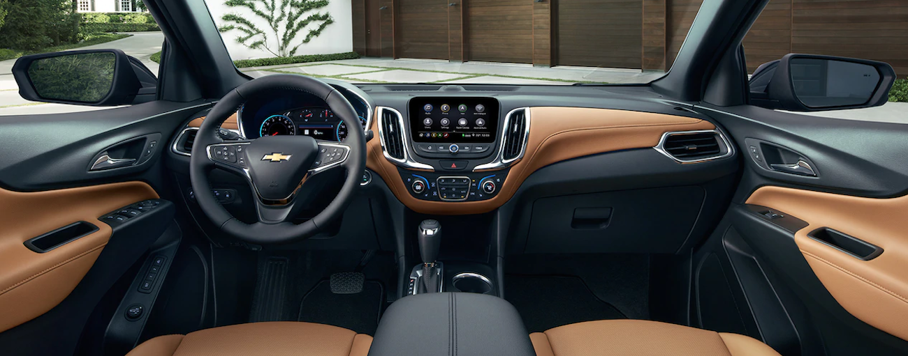 The high tech interior of the 2019 Chevy Equinox