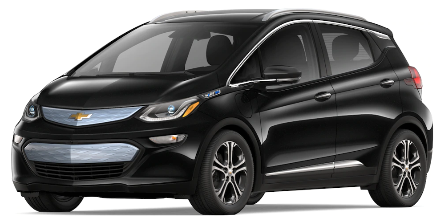 2019 Chevy Bolt in Mosaic Black Metallic
