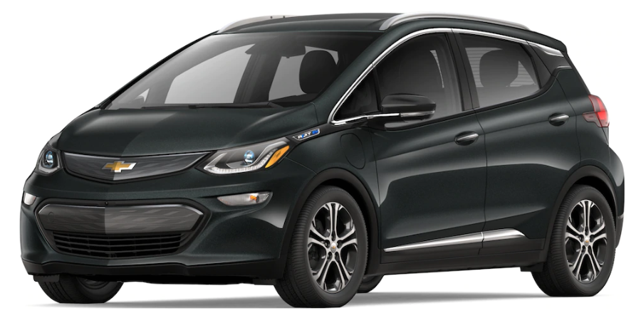 2019 Chevy Bolt in Nightfall Gray Metallic