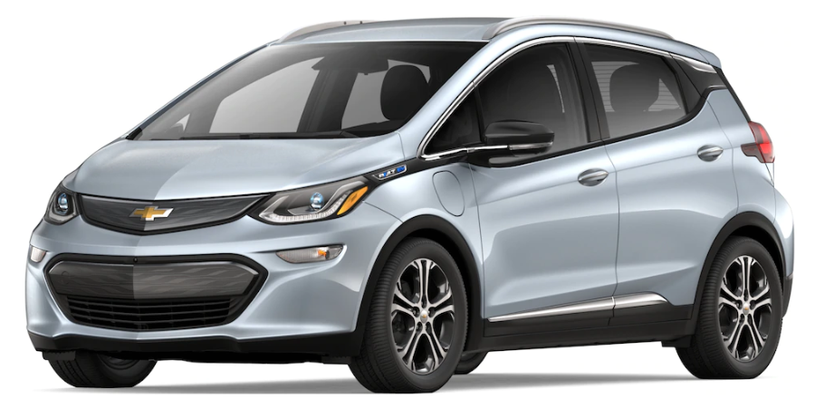 2019 Chevy Bolt in Silver Ice Metallic