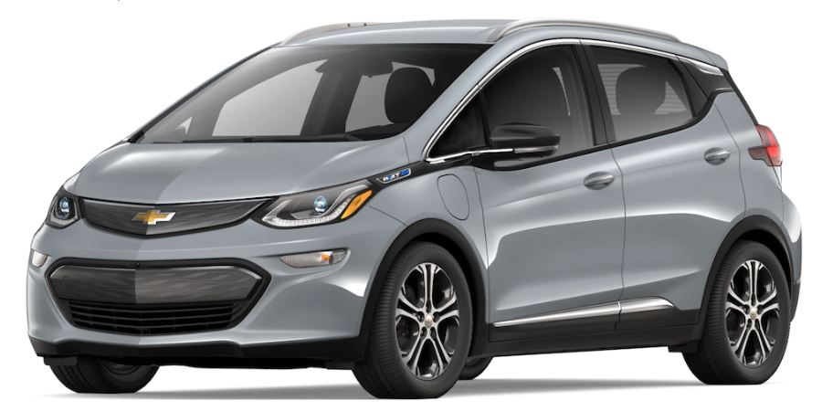 2019 Chevy Bolt in Slate Gray Metallic