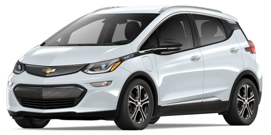 2019 Chevy Bolt in Summit White