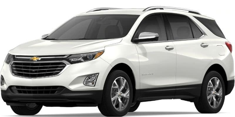 2019 Chevy Equinox in Iridescent Pearl Tricoat