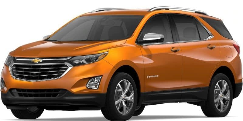 What colors does the 2019 Chevrolet Equinox come in?